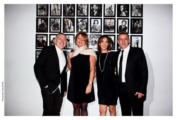 1. Stéphane Casez, Marion Gervais et Philippe Giangreco et leur associée Sophie Defforey (Aquasourça)