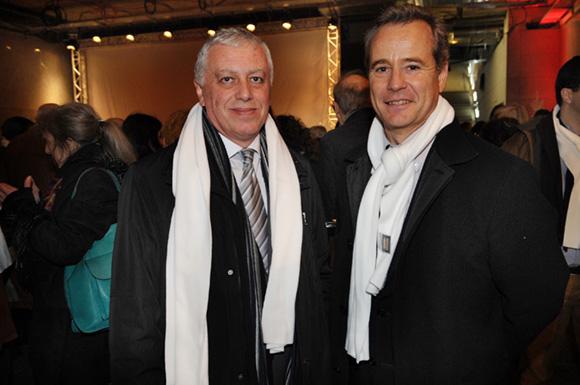 14. Jean-Louis Ubaud, conseiller général d'Oullins et Gilles Vesco, vice-président du Grand Lyon