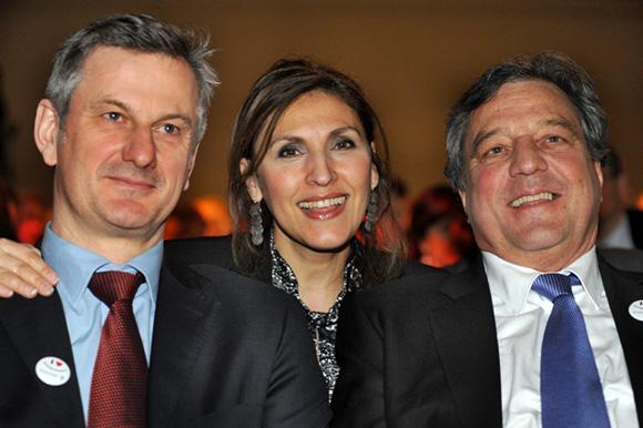 15. Pierre Fanneau, DG du Progrès, Nora Berra, député européen et François Turcas, président de la CGPME