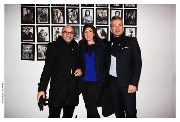 16. Jean Borges (Le Printemps), Sophie Rochas (Le Printemps) et son époux Mathieu