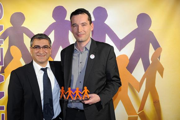 17. Christian Missirian (EDF) et Frédéric Minssieux (Clauger)