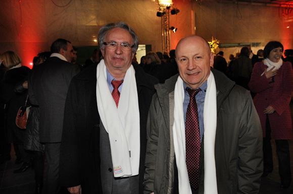 19. Bernard Rivalta, président du Sytral et Jean-Claude Lassalle (Le Progrès)