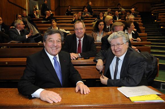 2. François Turcas (CGPME) et Elie Cohen