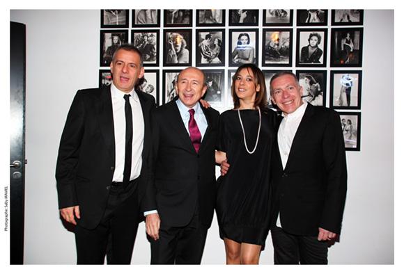 20. Philippe Giangreco, Gérard Collomb, Marion Gervais et Stéphane Casez