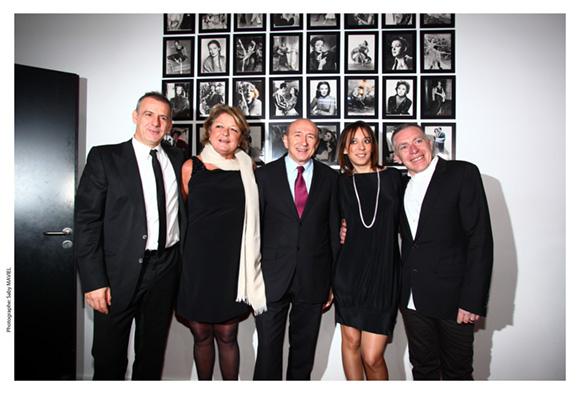 21. Philippe Giangreco, Sophie Defforey, Gérard Collomb, Marion Gervais et Stéphane Casez