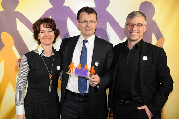 24. Armelle Bourden (Orange), Philippe Buisson (Doran International) et Olivier Faure (Orange)