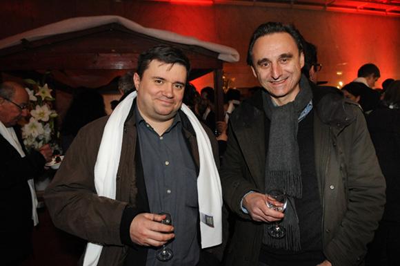 24. Gérald Bouchon (Lyon 1ère) et Bertrand Frachon (TLM)