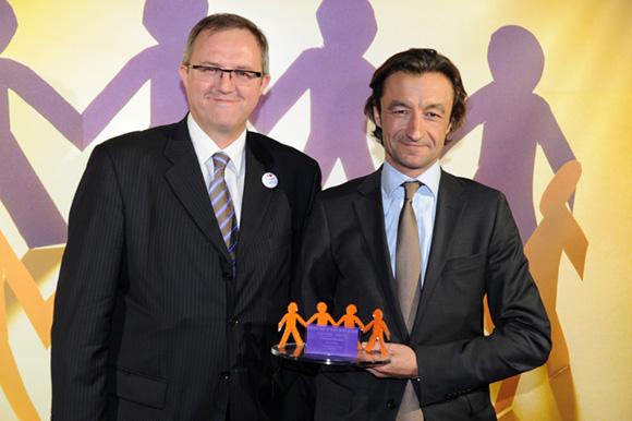 26. Jean-Marc Jaumouille (Fiducial) et Gaëtan de Sainte Marie (PME Central)