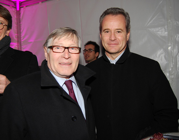 27. Jean-Jacques David, maire du 6e arrondissement et Gilles Vesco, vice-président du Grand Lyon