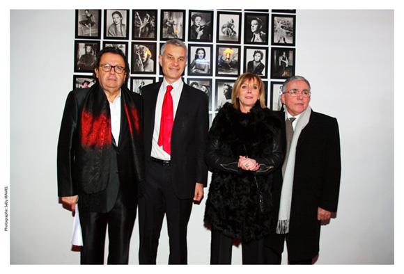 28. Philippe Vorburger, Jérôme Maleski, premier adjoint au maire du 3ème, Alain Milliat (Tout Lyon) et son épouse