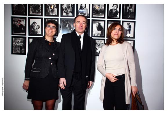 29. Elodie Humeau, Yves Rioton (Séminaires Business) et Nora Berra, député européen