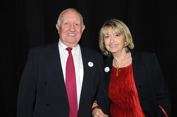 31. Claude Chabot, adjoint aux sports du 6ème et son épouse Marie-Françoise