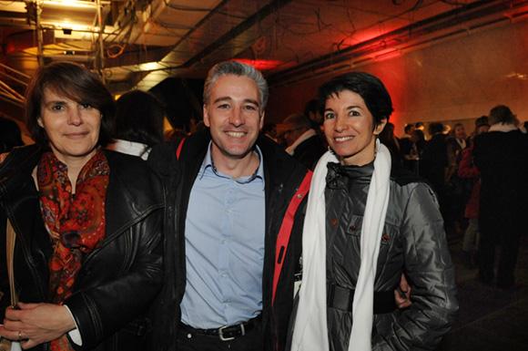 32. Sophie Suc (Kem One), Frédéric Llop (France 3) et son épouse Marie-France (Prisme Consulting)
