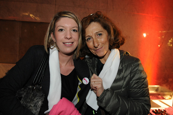 34. Bertille Boubon et Brigitte Honegger (Fly On & TGV Mag)