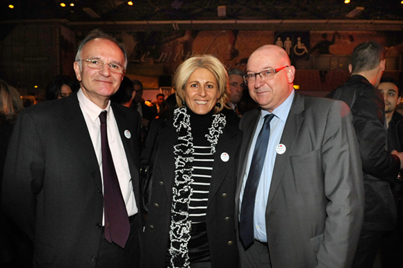 35. Jean Baligand (ISARA Lyon), Danny Morsilli (La Sphère des Possibles) et Pascal Desamais (ISARA Lyon)