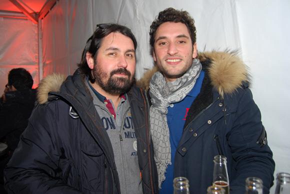 35. Bouly (Riva Café) et Guillaume (Café de la Cathédrale Lyon 5), fils d'un mec sympa