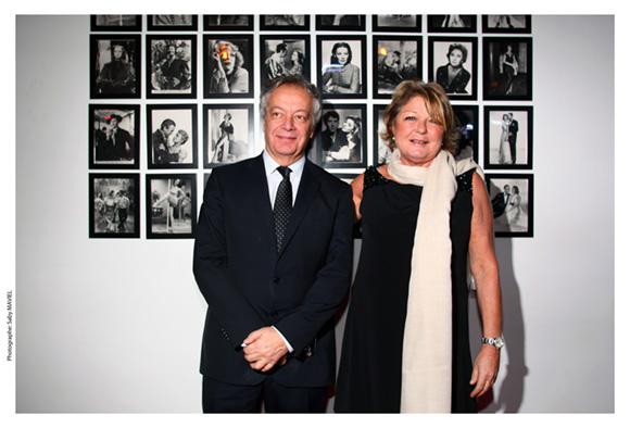 35. Philippe Grillot, président de la CCI et Sophie Defforey
