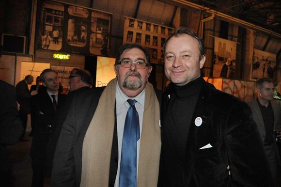36. Le journaliste Yves Espaignet et Marco (Lyon People)