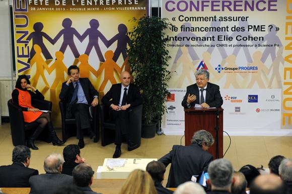 4. Elie Cohen ou « Comment financer les PME ? »