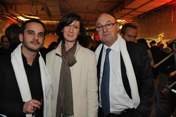 40. Jean-Christophe Galeazzi (RCF), Emmanuelle Bouchet (Cap'Ophea Conseil) et Gérard Angel (Les Potins d'Angèle)