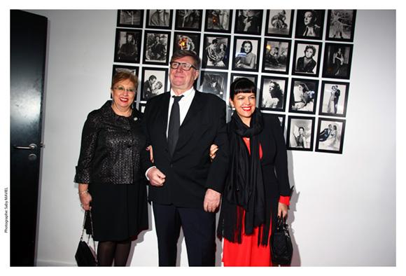 40. Evelyne Haguenauer, adjointe au maire, le docteur Jean Reanaudin et son épouse Laurence