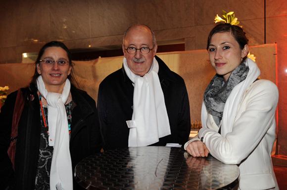4. Nadia Gorbatko, Bernard Fleur (MBF conseil) et Claudine Bourette (Institut Carrel)