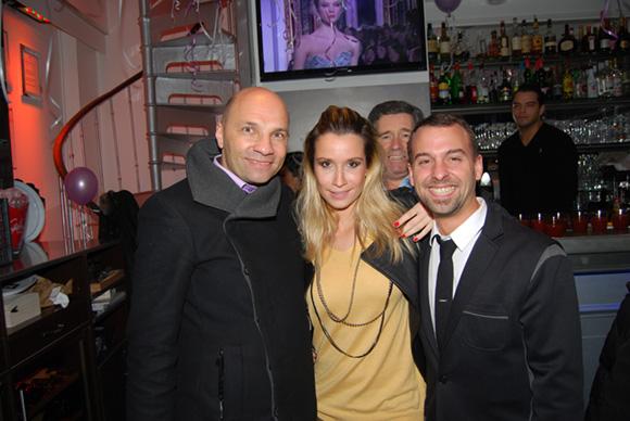 4. Edouard (Champagne Laurent Perrier), Melle Eva et Maxime