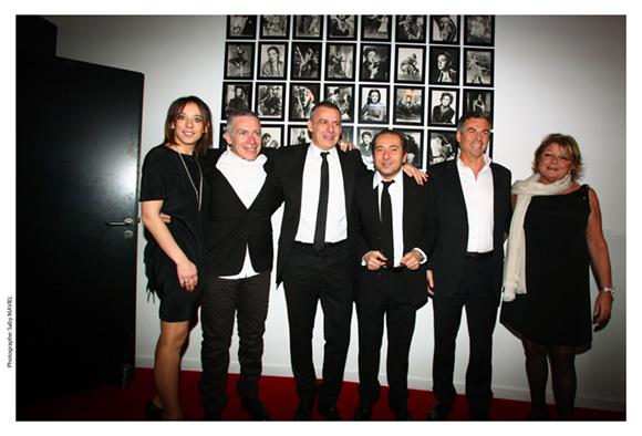 4. Marion Gervais, Stéphane Casez, Philippe Giangreco, Patrick Timsit, Bruno Gaccio et Sophie Defforey
