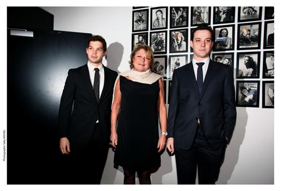 42. Sophie Defforey et ses fils