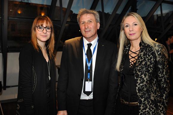 5. La styliste Paloma Casile, Alain Trescartes (LCL) et Nathalie Chaize