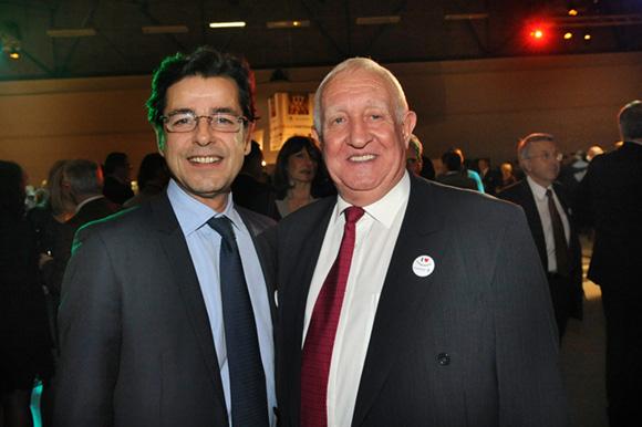 50. Emmanuel Hamelin et Claude Chabot, adjoint aux sports du 6ème