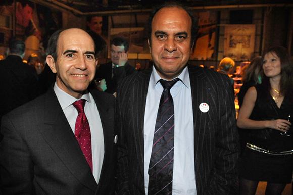 52. Daniel Blanes (Les Experts TPE PME) et Aziz Lamrani (Royal Air Maroc)