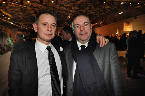 54. Hubert Mermoz (Renault Lyon sud) et Frédéric Poty (Esprit d'action)