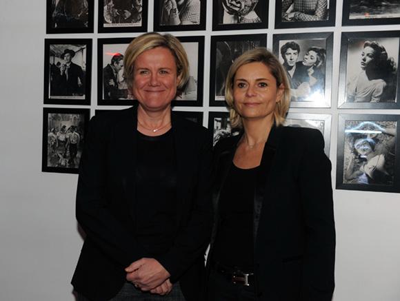 55. Pascale Savey (Préfecture du Rhône) et une amie