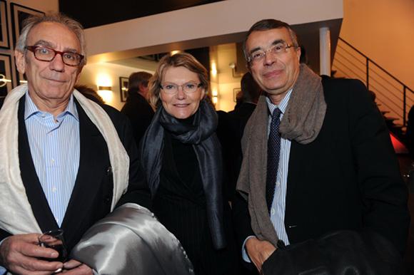 65. Albert Dray (Café du Pond), Elisabeth et Jean-Jack Queyranne, président du Conseil Régional