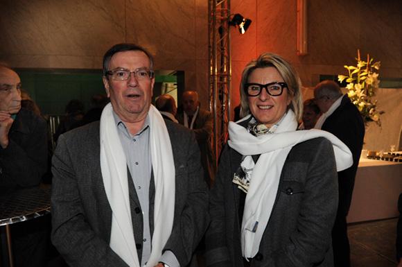 7. Jean-Noël Joatton et Cécile Rabaud (Crédit Agricole)