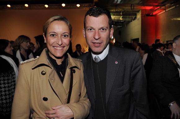 8. Sophie Renard (Agence Eliott & Markus) et Thierry Vitoz (Université Lyon III)
