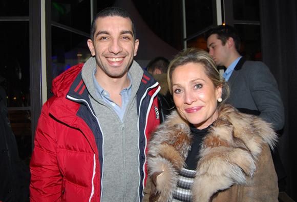 8. Dalil Merad (DcomMedia) et Clotilde Dupont (L'Arca International)