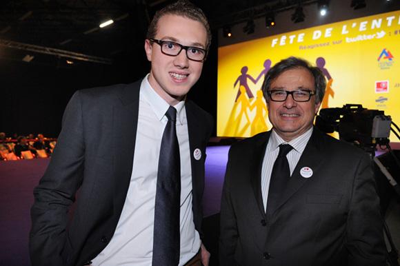 9. Alexandre Carre (Verycook) et Emmanuel Imberton, 1er vice-président de la CCI