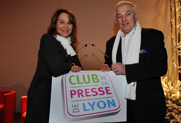 9. Françoise Petit (Lyon People) et Maurice Fusier (France Info)
