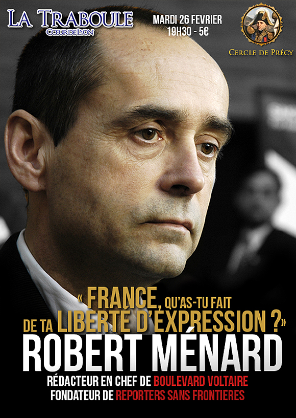 Robert Menard va trabouler avec les identitaires