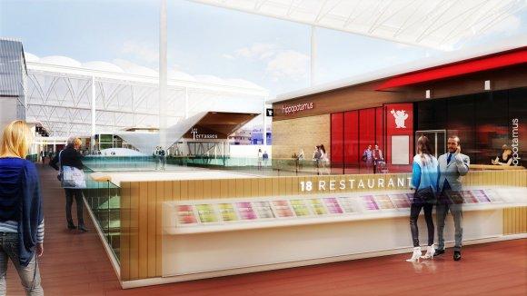 « Dining Experience. » Unibail-Rodamco réinvestit 3 millions d'euros dans Confluence
