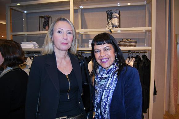 2. La styliste Nathalie Chaize et Laurence Renaudin