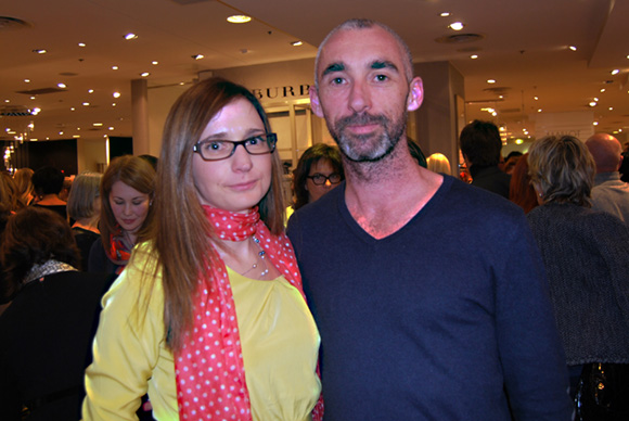 8. La chanteuse Mademoiselle Balladin et Sébastien Dauvillier (Arts & Enfance)