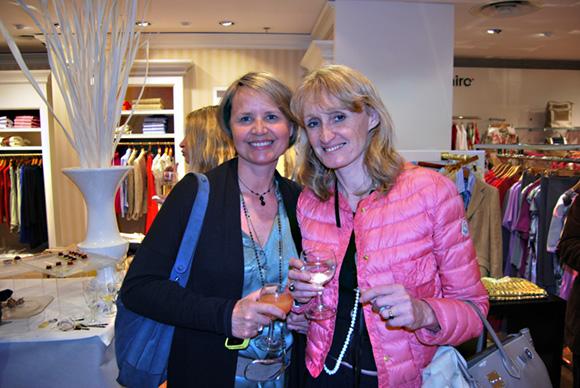 9. Sophie Deschamps (Sophie Deschamps Bijoux) et Marie-Laure Reynaud (FCE – Femmes Chefs d'Entreprise)