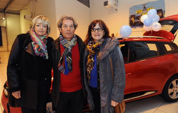 11. Sylvie Isselée, Jacques Testa et son épouse Martine