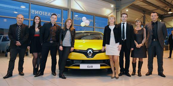 1. L'équipe de Renault Lyon Ouest