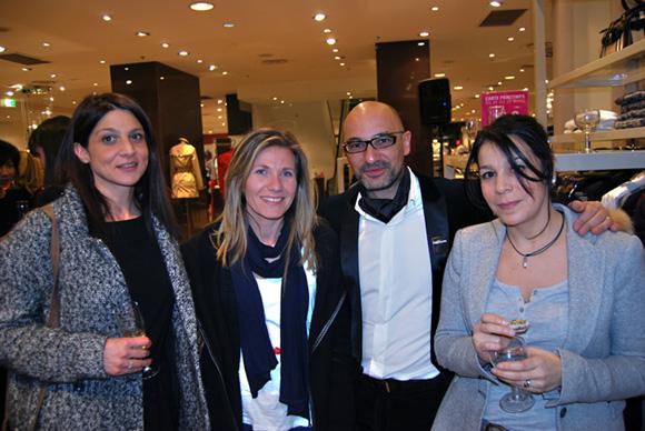 13. Barbara Leport (Cegid), Christelle Leport, le Directeur du Printemps et Samia Ourad (Cegid)