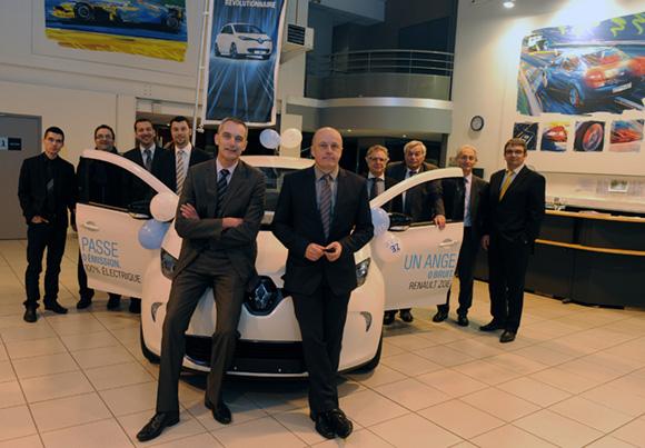14. L'équipe de Renault Givors