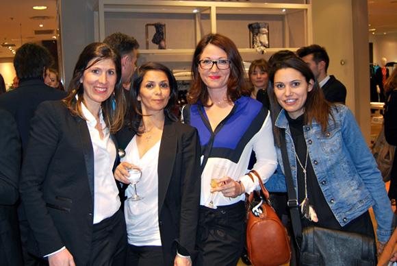 14. Sophie Rochas (Printemps), Eloïse Girault (Ego), Christelle Jardin (Voyages Kuoni) et Laure Larrouquère (Brossette)